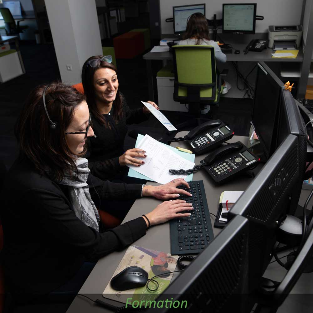 Formation téléassistance centre d'écoute Filien ADMR