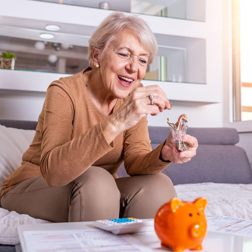 Aides financières services d'aide à domicile