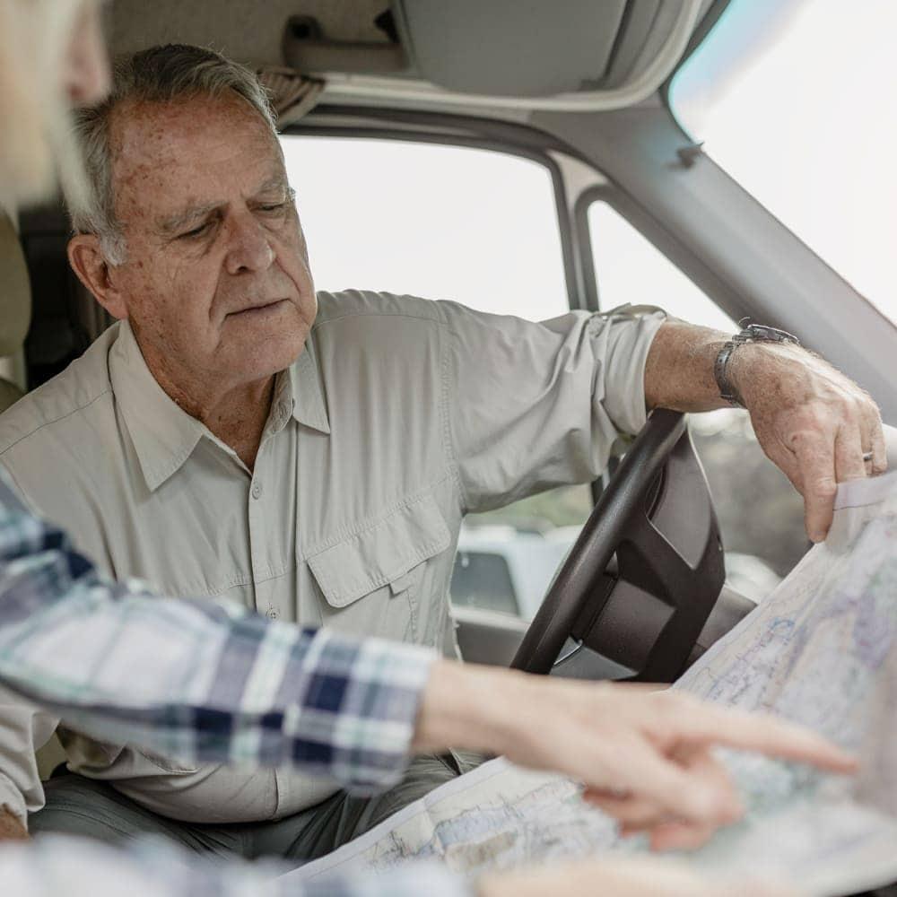 Empêcher une personne âgée de conduire